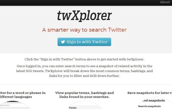 twXplorer buscador twitter
