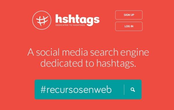 Hshtag buscar hashtags