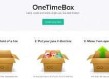 OneTimeBox compartir archivos