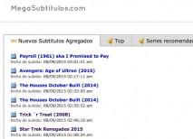 subtitulos de series